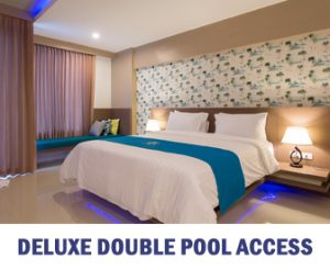 DELUXE DOUBLE POOL ACCESS