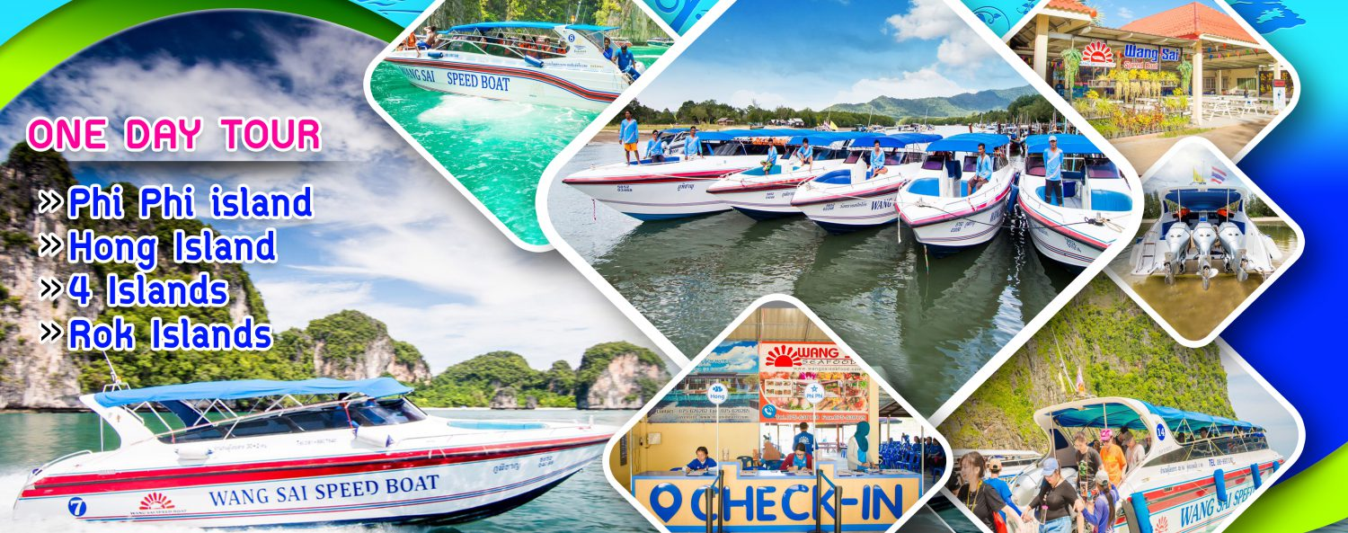 Wang Sai SpeedBoat – Tour Krabi